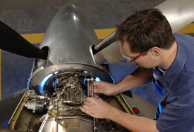 On-wing maintenance of a PT6.